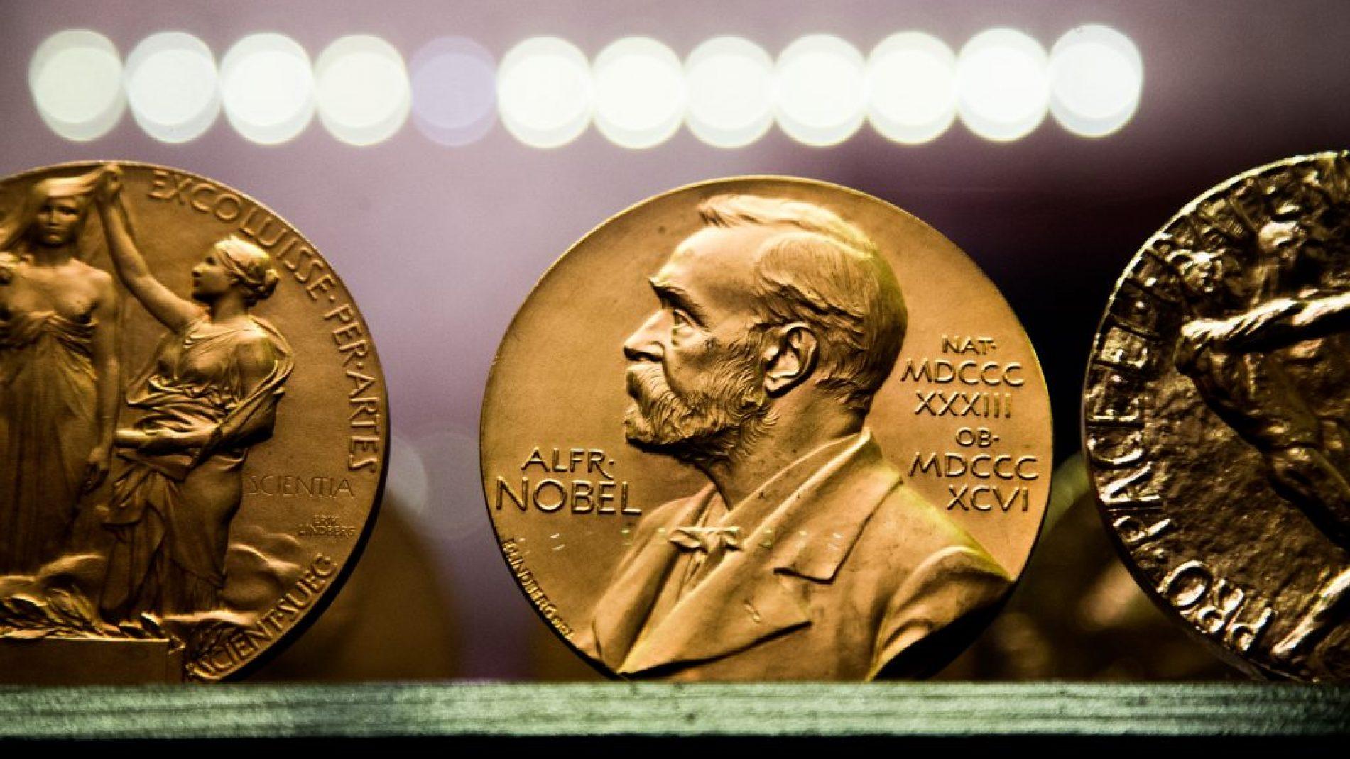 Björkborn,,Karlskoga,2017-03-14:,Copy,Of,Nobel,Medals,At,Björkborn's,Mansion.